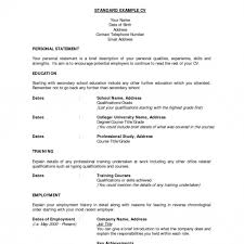 Standard Resume Resume Templates Education And Training Technician ...