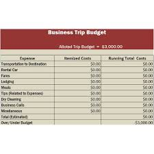 travel budget worksheet travel business template in excel free download