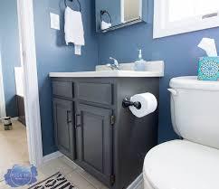 completely change bathroom cabinets