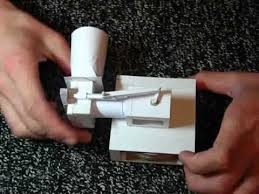 papercraft how to make a fully working papercraft gun papercraft working paper engine