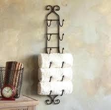 wine towel rack. Exellent Rack Towel Wine Rack Wrought Iron Ornate Wall Mounted    Intended Wine Towel Rack G