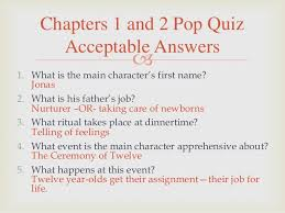 the giver novel questions quizzes and activities 4