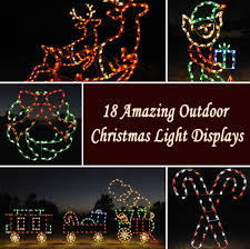 Outdoor Christmas Lights 18 Amazing Outdoor Christmas Light Displays Style Motivation