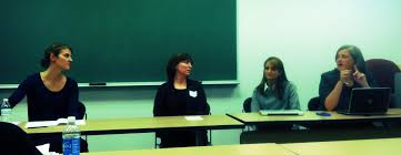 Heather Summers, Larissa Mulholland, Deborah Rintels Weiner, and Melissa  Bradford (panel presentation) – DePaul EdD Program