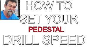 Drill Press Speed Chart Metal How To Select Correct Speed For Diameter And Material Drill Press Dave Stanton Woodworking