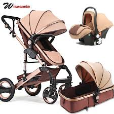 Voondo Baby <b>stroller high landscape two</b>-<b>way</b> shock can sit ...