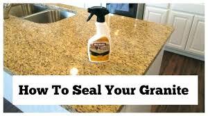 how do you seal granite countertops sealing granite sealing granite products permanently this old house sealing