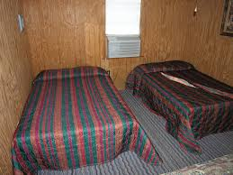 full size mattress two people. #2 CABIN Three Full Size Beds, Kitchen, Large Covered Porch, ONE Bath GREAT VIEW OF LAKE FROM COVERED PORCH $150.00 Per Night - (6 People Max) Mattress Two