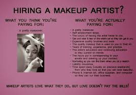are make up artists too expensive