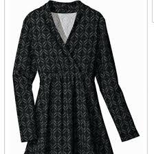 Sahalie Leggings Lovin Wrap Knit Print Tunic