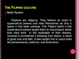 society and culture the filipino values and culture <br > 9 the filipino culture<br