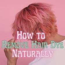 remove hair dye with baking soda