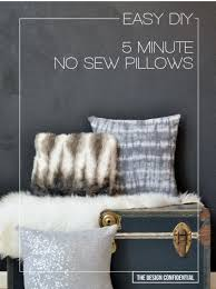 diy teen room decor ideas for girls easy no sew 5 minute diy pillows