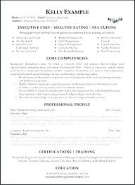 Chef Resume Example Chef Resume Samples Sample Templates Resize C ...