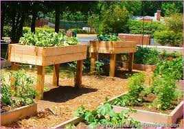 Raised Garden Bed Design Ideas Recycled Pallet Raised Garden Bed
