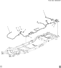 cadillac escalade 06 bodystyle 2wd ck2 06 wiring harness ck2 06 wiring harness chassis