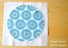 Circle Quilt Patterns Adorable Indie Chic Circle Quilt A Bulls Eye Quilt Tutorial Simple Simon