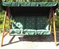 garden swing seat cushions uk. swing hammock set of 3 deep fill high back cushions 128x55x10cm to fit seat width 150-165cm garden uk e