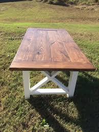 diy outdoor farmhouse table. Farmhouse Table Farm And Bench By NorthGeorgiaWoodwork Diy Outdoor