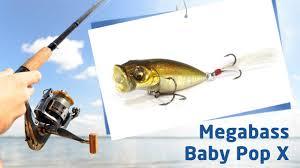 <b>Воблеры Megabass Baby Pop X</b> - YouTube