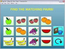 Powerpoint Matching Pairs Game Template Memory Game Ppt Template