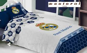 duvet cover real madrid 258 by manterol bed linen from 1 00
