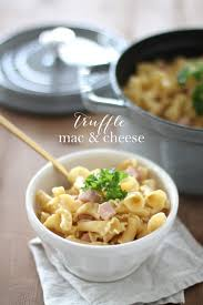 truffle mac and cheese recipe with