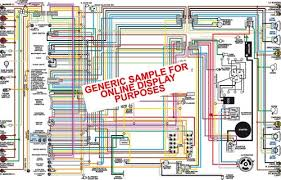 1963 chevy belair biscayne & impala color wiring diagram 62 Impala Wiring Diagram at 63 Chevy Impala Wiring Diagram