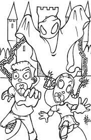 Disegni Di Halloween Per Bambini Da Stampare E Colorare Pourfemme