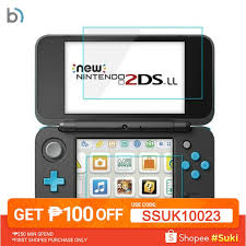 For Nintendo 2DS <b>XL clear PET</b> Screen Protector Film | Shopee ...