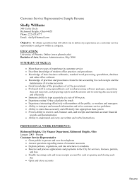 Sample Of Resume For Customer Service Representative Call Center Customer Service Rep Resume Samples Awesome Cover 5