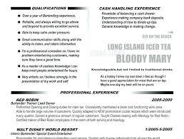 Bar Resume Examples Bar Resume Examples Bar Manager Resume