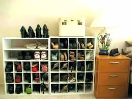 storage closet shoes rack ideas wonderful custom shoe cabinet reviews homes throughout small clothes f