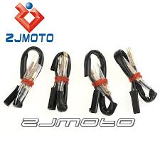 aliexpress com buy 4 pcs motorcycle oem turn signal wiring 4 pcs motorcycle oem turn signal wiring adapter plug harness connectors 2 wire for suzuki