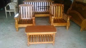 wood furniture sofa set