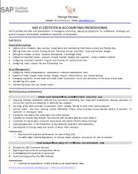 SAP Fico Sample Resumes | Free Resumes Tips