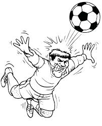 Soccer Coloring Pages Messi Soccer Coloring Page Heading A Ball