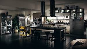 beautiful dark kitchens. Modern Kitchen : In Black With Dark Floor And Beautiful Cart Yellow S Sophisticated Modular A Dash Of Vintage Charm! Kitchens N