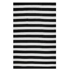 nantucket black and white outdoor rug