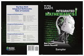big ideas math integrated mathematics