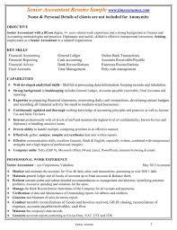Senior Accountant Resume Download Senior Accountant Resume Sample For Free Formtemplate