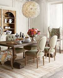 evelyn dining table blanchett side chair and pheasant host chair french country