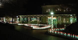 Ogilby Park Christmas Lights Elaborate Holiday Light Show Attracts Visitors To Oglebay