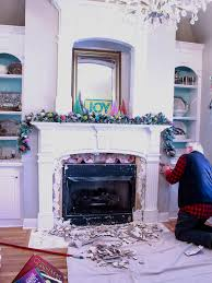 Image Brick Fireplace How To Remove Fireplace Mantel And Tile Chaotically Creative How To Remove Fireplace Tiles Chaotically Creative
