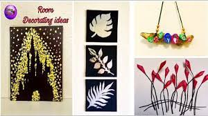 easy diy room decor wall decor crafts