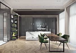 Living Room And Kitchen Designs Gorgeous Kitchen Designs Completed With An Attractive Interior