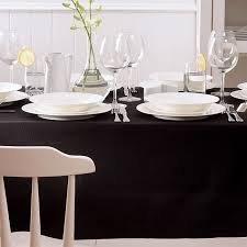 dining room linen tablecloths. view in gallery solid black tablecloth from homes n things dining room linen tablecloths