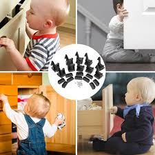 10pcsset Child Safety Cupboard Locks Baby Drawer Cabinet Lock