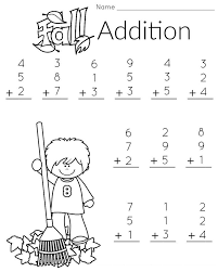 Free First Grade Math Worksheets | Activity Shelter