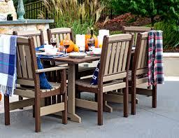 poly lumber furniture. Wonderful Lumber Poly Lumber Dining Log Cabin Patio Furniture For Furniture Zook Cabins